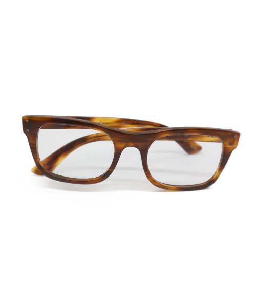 RAY-BAN(レイバン)RAY-BAN (レイバン) 伊達眼鏡 ブラウン RB5227の古着・服飾アイテム