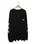 HOORSENBUHS(ホーセンブース)の古着「ロングスリーブTシャツ」|ブラック
