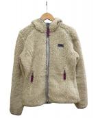 Patagonia(パタゴニア)の古着「フリースジャケット」|アイボリー×ピンク
