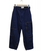 BEAMS BOY(ビームスボーイ)の古着「ロイヤルエアフォースオーバーパンツ」|ネイビー