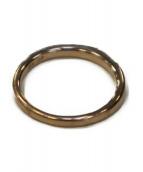 4℃(ヨンドシー)の古着「K10ピンキーリング」 ゴールド