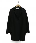 HARRIS WHARF LONDON(ハリスワーフロンドン)の古着「ウールコート」|ブラック