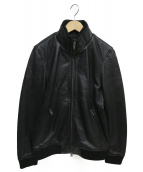 LIUGOO LEATHERS(リューグーレザーズ)の古着「レザージャケット」 ブラック