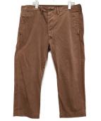 RRL(ダブルアールエル)の古着「テーパードパンツ」|ブラウン