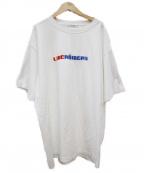 Liberaiders(リベライダーズ)の古着「ロゴTシャツ」 ホワイト