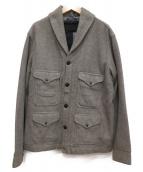 POLO RALPH LAUREN(ポロラルフローレン)の古着「ジャカードシケットジャケット」|グレー