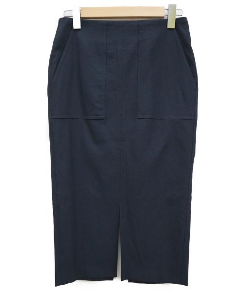 DOLLY SEAN(ドリーシーン)DOLLY SEAN (ドリーシーン) アサコンオックスタイトスカート ネイビー サイズ:38 未使用品の古着・服飾アイテム