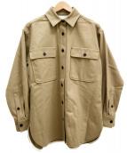 UNITED ARROWS TOKYO(ユナイティッドアローズトウキョウ)の古着「UWMSC2ポケットシャツ」|ベージュ