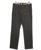 Varde77(バルデセブンティセブン)の古着「40'S PRISONER PANTS」|グレー