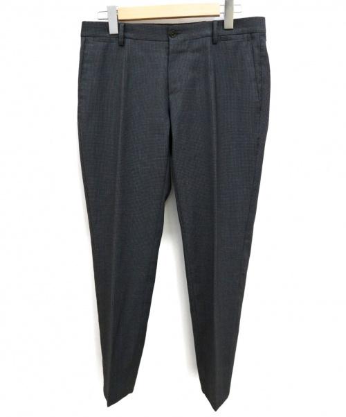 DOLCE & GABBANA(ドルチェアンドガッバーナ)DOLCE & GABBANA (ドルチェアンドガッバーナ) センタープレスパンツ グレー サイズ:44の古着・服飾アイテム