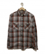 R.H.Vintage(ロンハーマンヴィンテージ)の古着「チェックシャツ」 グレー