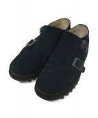 Caminando(カミナンド)の古着「Double Monk Ripple Shoes」|ネイビー