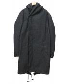 junhashimoto(ジュンハシモト)の古着「2レイヤーモッズコート」|グレー