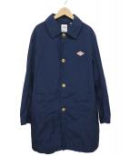 DANTON(ダントン)の古着「ステンカラーコート」|ネイビー