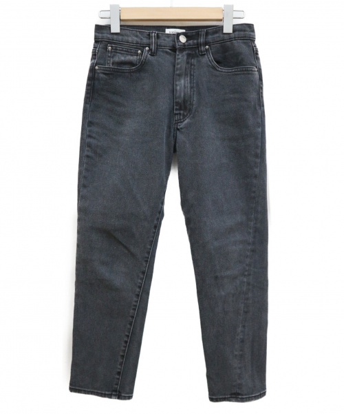 TOTEM(トーテム)TOTEM (トーテム) デニムパンツ ブラック サイズ:63.5cm (W25) ORIGINAL DENIMの古着・服飾アイテム