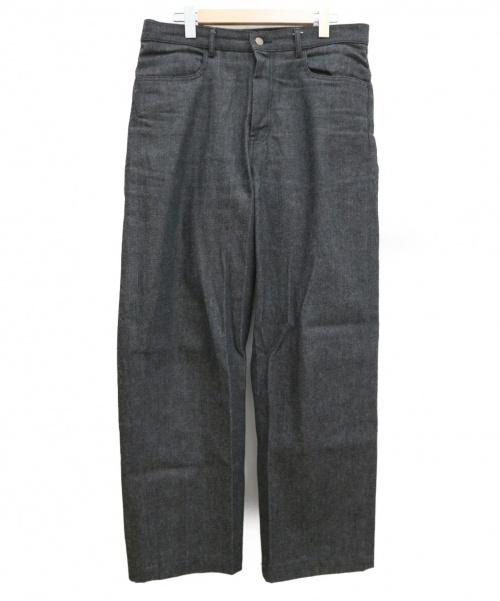order(オーダー)order (オーダー) ルーズデニムパンツ グレー サイズ:XLの古着・服飾アイテム