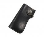 HAND CRAFT LEATHER CALF(ハンドクラフトレザーカーフ)の古着「財布」|ブラック