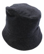 Engineered Garments(エンジニアードガーメンツ)の古着「ウールバケットハット」|ネイビー
