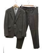Paul Smith London(ポールスミスロンドン)の古着「ヘリンボーン3ピーススーツ」|ベージュ