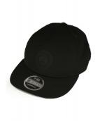 CANADA GOOSE×New Era(カナダグース×ニューエラ)の古着「LOGO TRUCKER CAP」 ブラック