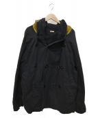 KAPITAL(キャピタル)の古着「リングコート」|ブラック