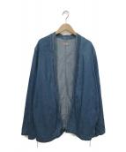 KAPITAL(キャピタル)の古着「8ozデニムKAKASHIシャツ」|インディゴ