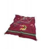 KAPITAL(キャピタル)の古着「タイガー&ドラゴンストール」|パープル