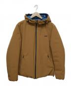 ADD(エーディーディー)の古着「中綿ジャケット」 ベージュ
