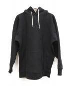 RHC Ron Herman(アールエイチシー ロンハーマン)の古着「コラボパーカー」|ブラック