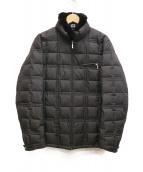 BURBERRY BLACK LABEL(バーバリーブラックレーベル)の古着「キルティングダウンジャケット」|ブラック