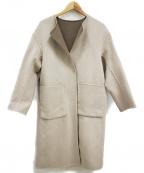 EMMEL REFINES(エメル リファインズ)の古着「リバーシブルコート」|ベージュ