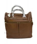 Felisi(フェリージ)の古着「レザートートバッグ」|ブラウン