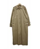 Burberrys(バーバリーズ)の古着「ノバチェックライナー付ステンカラーコート」|ベージュ