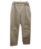 FRAMeWORK(フレームワーク)の古着「バイオギャバストレッチレギンスパンツ」 ベージュ