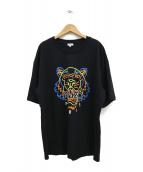 KENZO(ケンゾー)の古着「Neon Tiger Skate Tee」|ブラック