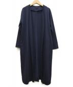 BARNYARDSTORM(バンヤードストーム)の古着「シフォンボンディングコート」|ネイビー