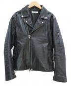 JOURNAL STANDARD(ジャーナルスタンダード)の古着「ライダースジャケット」|ブラック