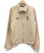 RUDE GALLERY(ルードギャラリー)の古着「ジップジャケット」 ベージュ