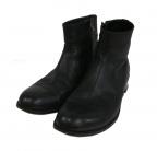 PADRONE(パドローネ)の古着「サイドジップブーツ」 ブラック