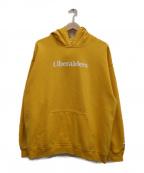 Liberaiders(リベライダーズ)の古着「ダメージ加工パーカー」 イエロー