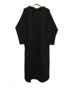 GALLARDA GALANTE(ガリャルダガランテ)の古着「カットソーワンピース」|ブラック