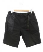 GRAMICCI()の古着「ウォレット付トリプルコラボショートパンツ」|ブラック