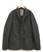 PRADA SPORTS(プラダスポーツ)の古着「中綿テーラードジャケット」|ブラック