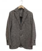 CIRCOLO 1901(チルコロ1901)の古着「ヘリンボーン2Bジャケット」 ブラウン