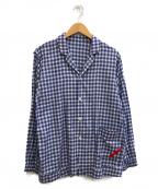 PHINGERIN(フィンガリン)の古着「ナイトシャツ」|ネイビー