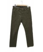 BEAMS PLUS(ビームスプラス)の古着「ストレッチコーデュロイパンツ 5ポケット」|カーキ