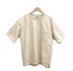 AURALEE(オーラリー)の古着「スタンドアップTシャツ」|アイボリー