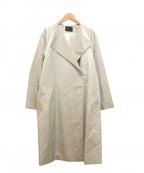 TOMORROW LAND collection(トゥモローランドコレクション)の古着「スパークツイルベルテッドコート」|グリーン