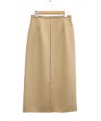 GALLARDA GALANTE(ガリャルダガランテ)の古着「ジョーゼットスカート」|ベージュ