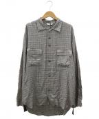THEE(シー)の古着「アンビバレントシャツ」|グレー